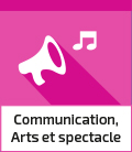 Groupe Communication, Arts et spectacle