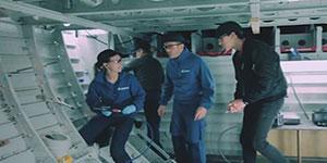 """Une vidéo : """"en mode avion. Le métier d'ajusteur-monteur chez Airbus à Saint-Nazaire"""""""