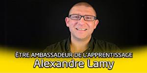 Portrait d'ambassadeur de l'apprentissage : Alexandre Lamy