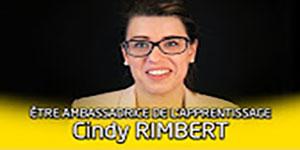 """une vidéo sur """"Portrait d'ambassadeur de l'apprentissage : Cindy Rimbert"""""""