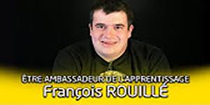 Une vidéo Portrait d'ambassadeur de l'apprentissage : François Rouillé