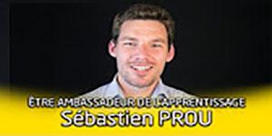 """une vidéo sur """"Portrait d'ambassadeur de l'apprentissage : Sébastien Prou"""""""