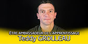Portrait d'ambassadeur de l'apprentissage : Teddy Grolleau. Une vidéo de la Région des Pays de la Loire